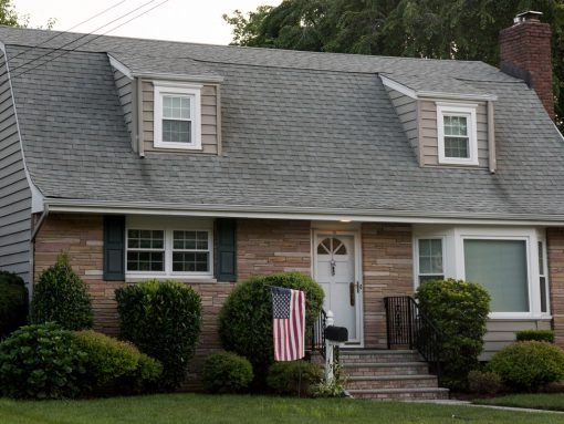 Entire Exterior of Bloomfield Expanded Cape