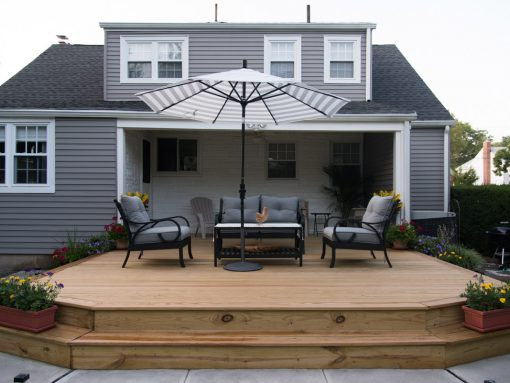Raised Wooden Platform Style in Bloomfield